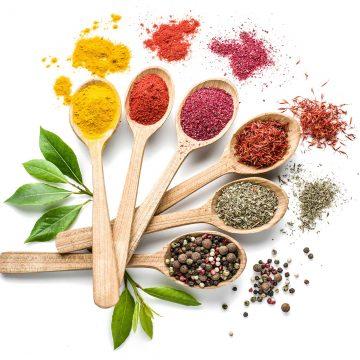 organic herbal powders